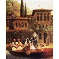 Восточная сцена (В лодке) Поездка на лодке по Кумкапи в Константинополе (Oriental Scene (In a Boat))